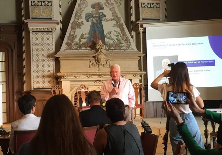 Addressing Europe's Unfinished Business – Notes from Caux